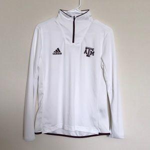 White Adidas Pullover